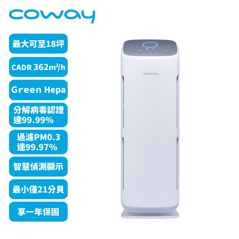 Coway 綠淨力立式空氣清淨機 AP-1216L,加贈6片活性碳濾網