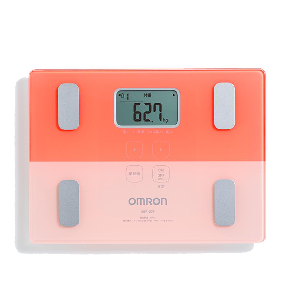 【新機上市】OMRON 歐姆龍 體重體脂計 HBF-225 粉色