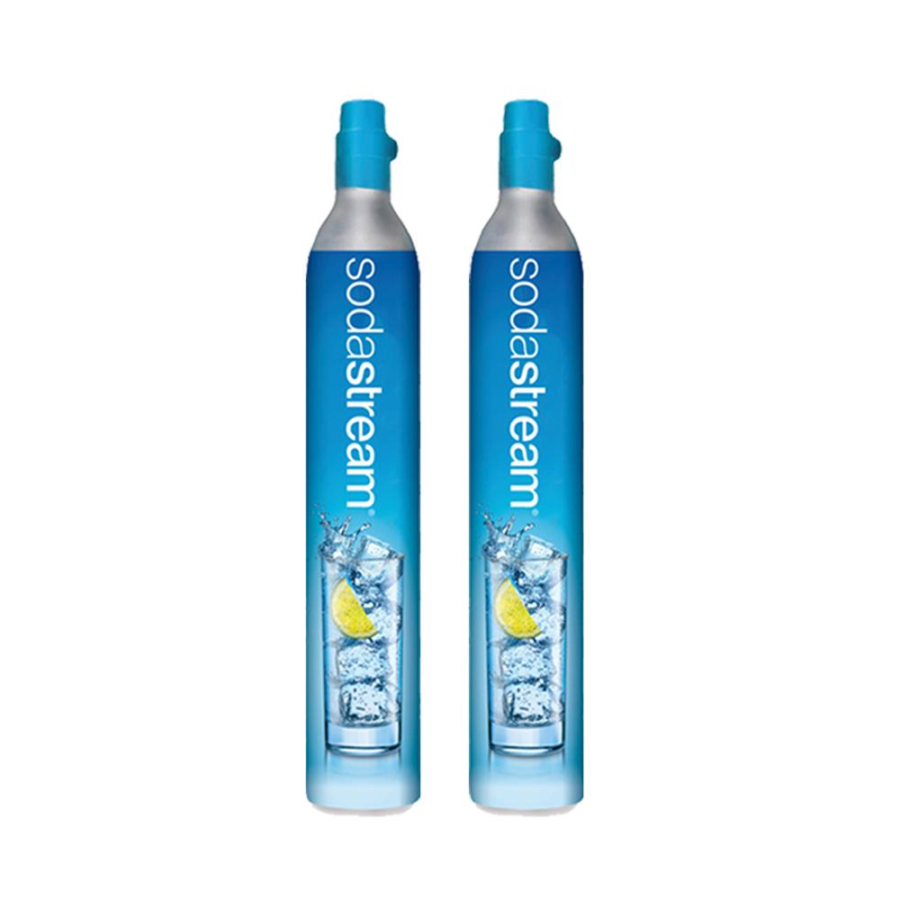 〔鋼瓶交換/回收舊換新〕(二入組) Sodastream二氧化碳交換鋼瓶 425g